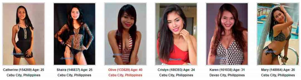 Filipino Brides - Mail order brides from Asia